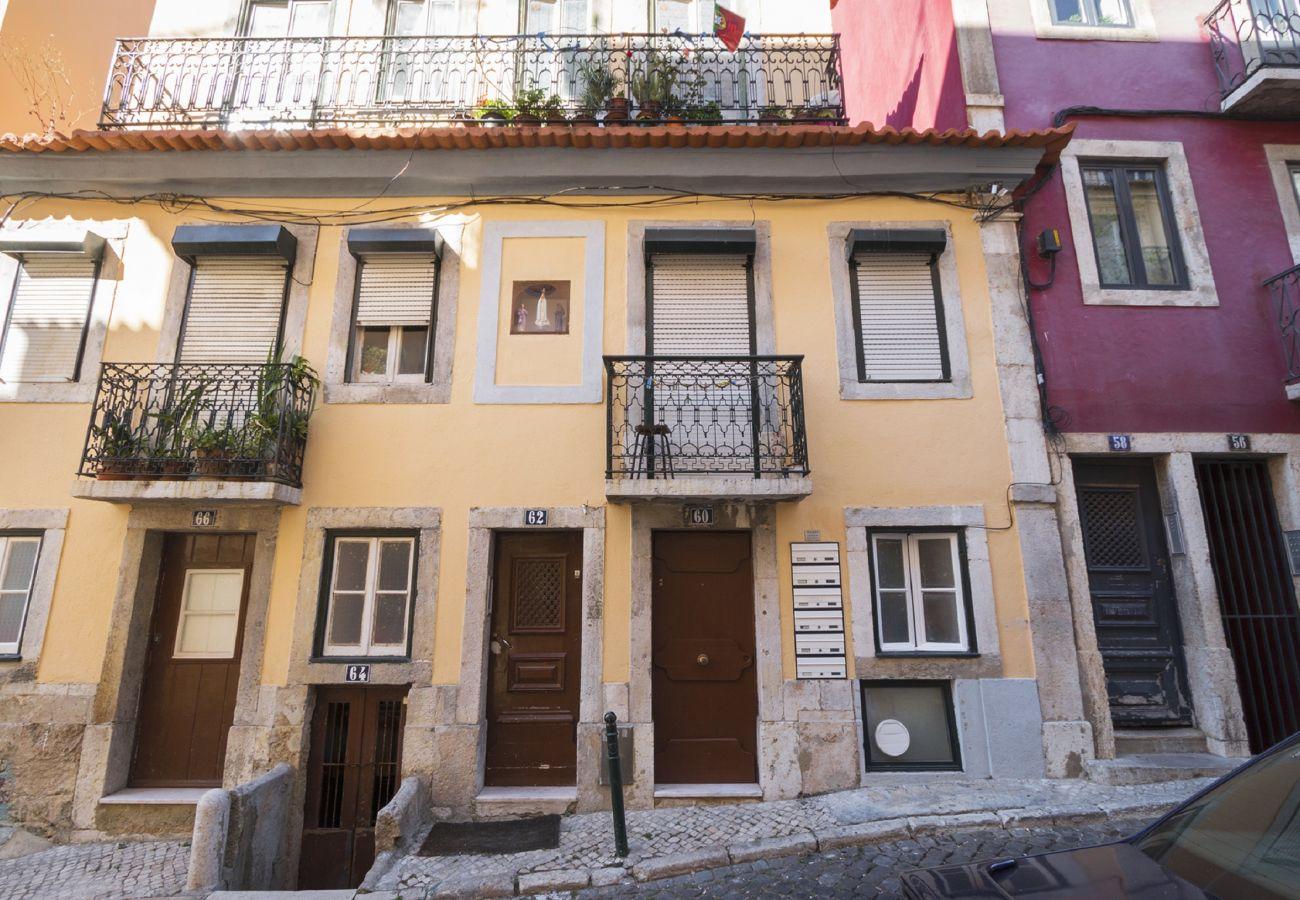 Edifício típico muito próximo do Rossio e Baixa de Lisboa