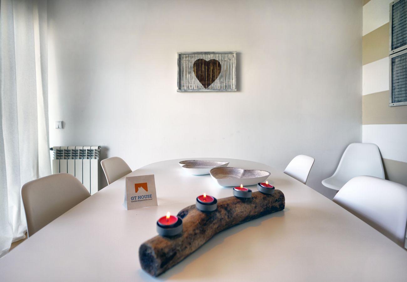 Apartamento para alugar, agradável zona de refeições | GT House