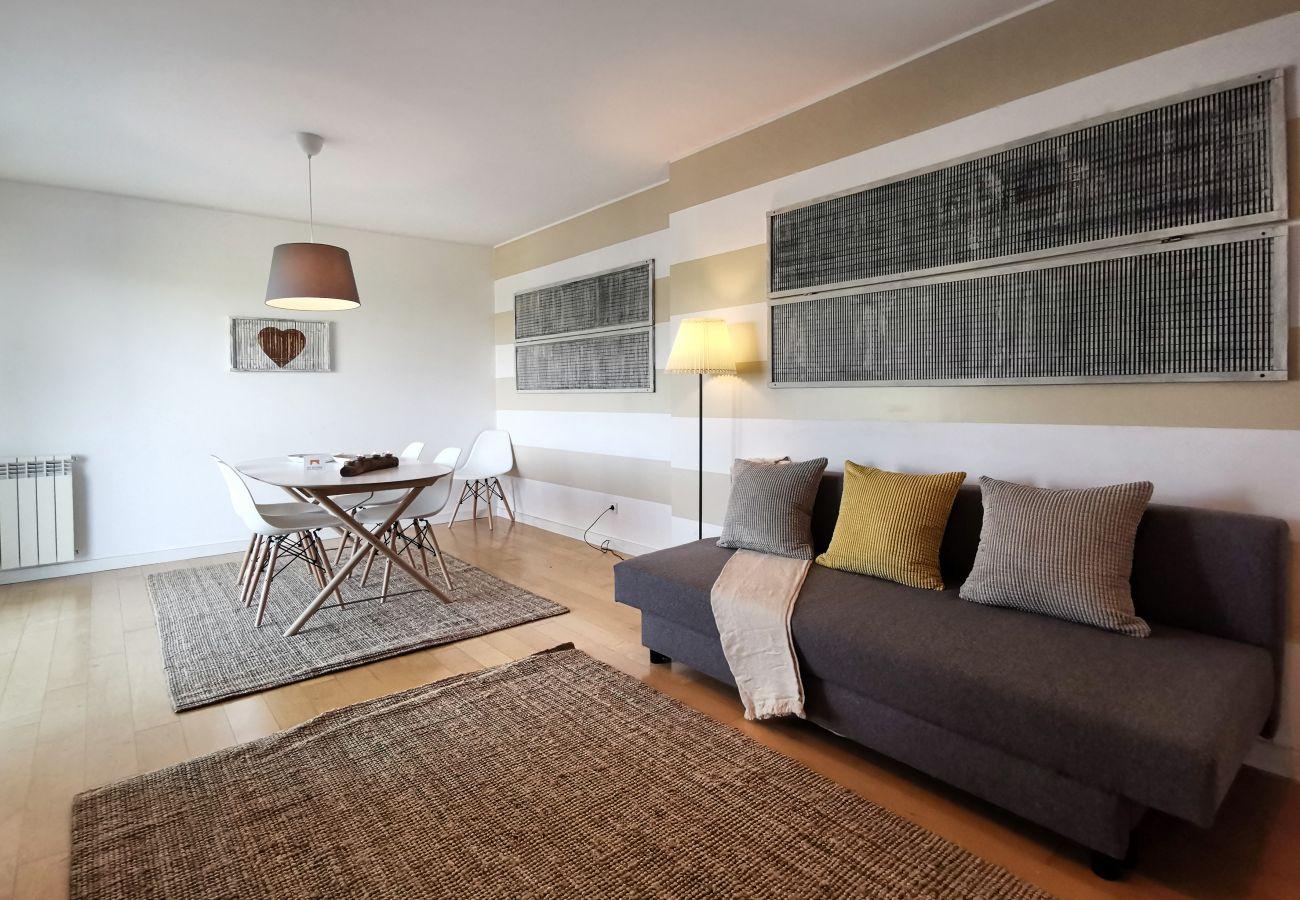 Área de estar muito confortável | GT House