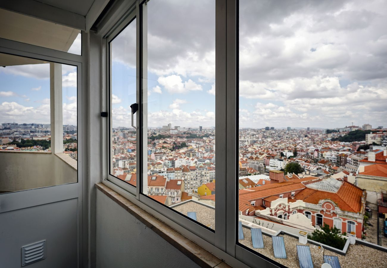 Desfrute da vista maravilhosa de Lisboa