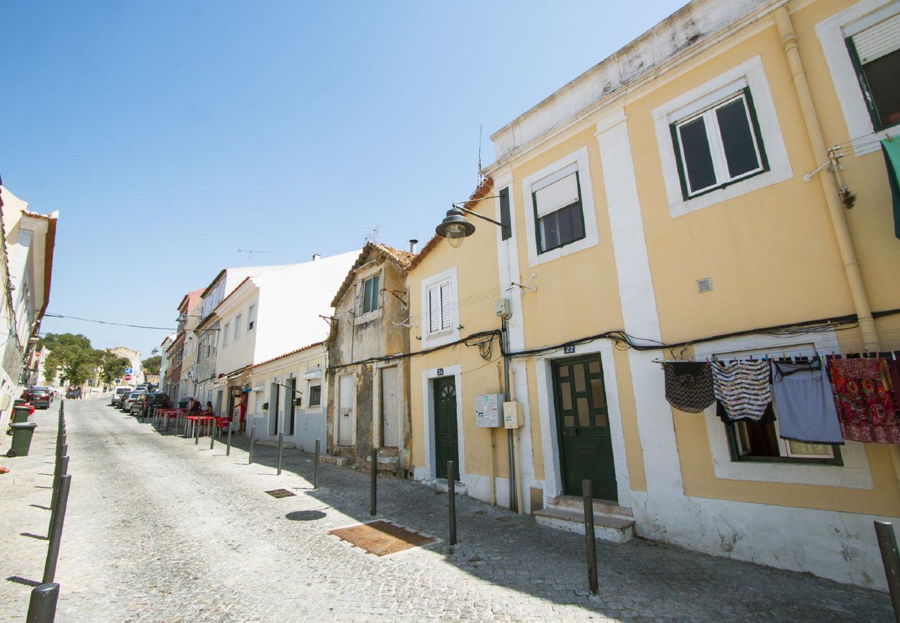 Wohnung für 2 Personen in einer typischen Gegend des alten Lissabon