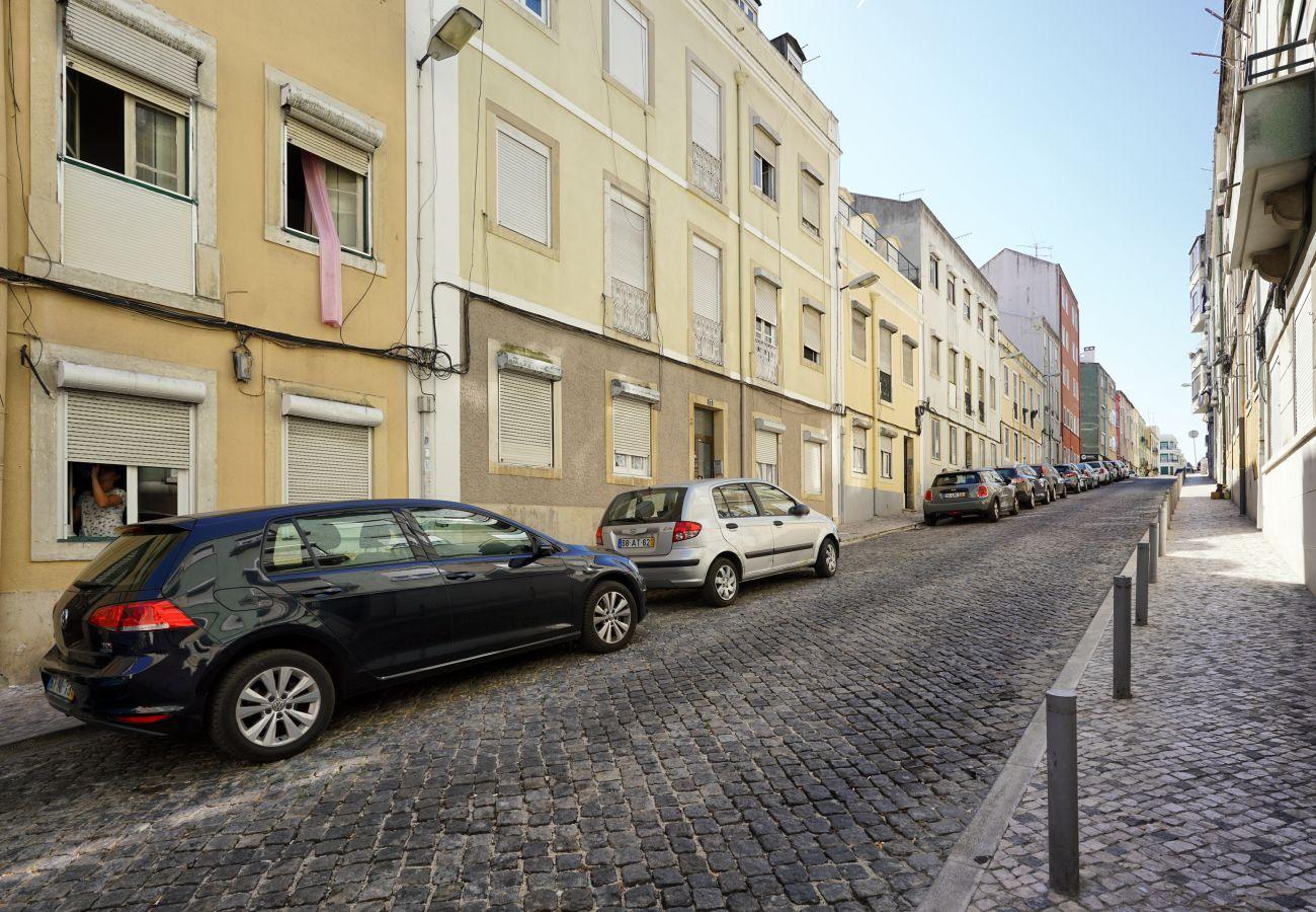 Wohnung mit 2 Schlafzimmern in Alcântara | Kurzzeitmiete