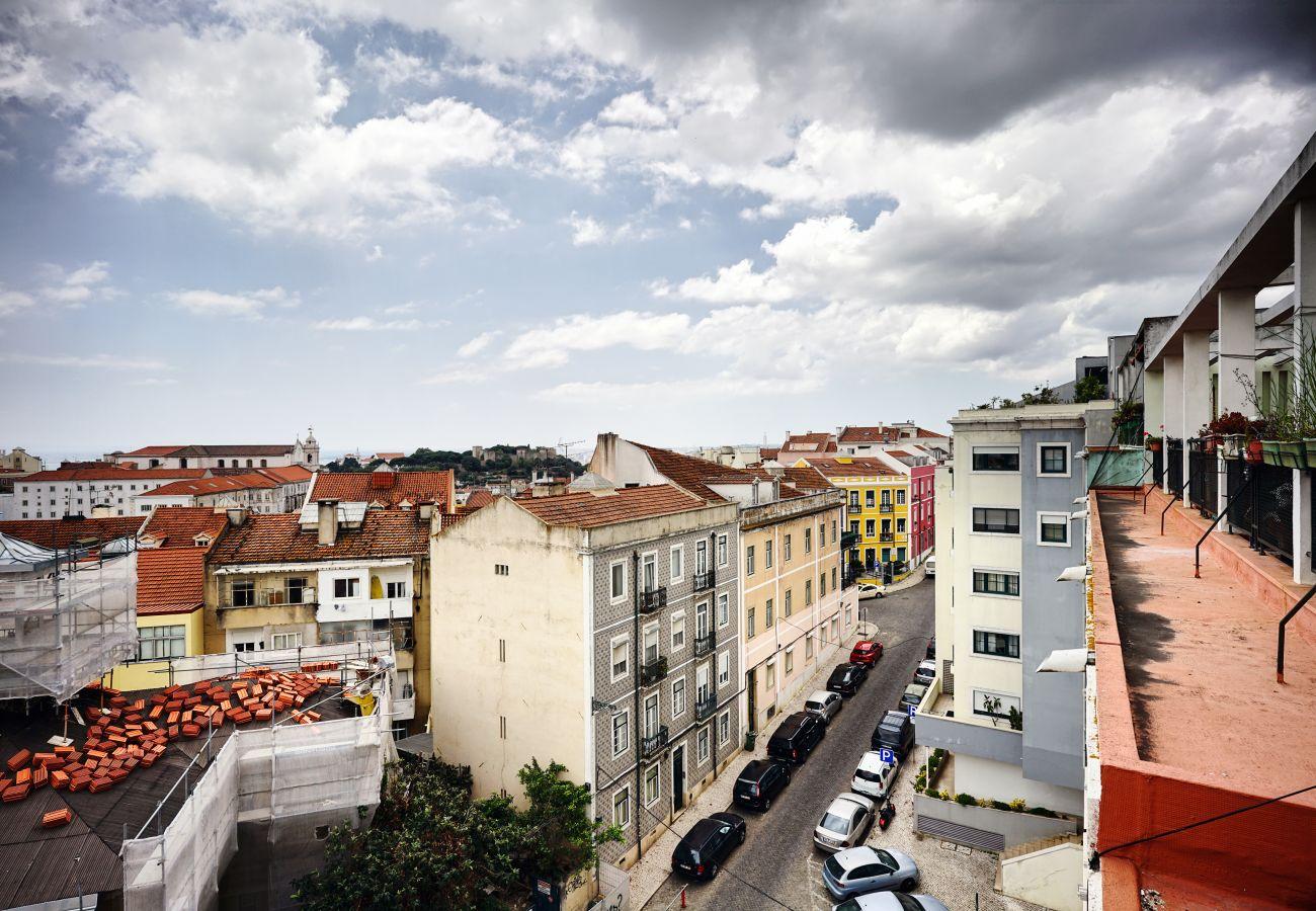 Ferienwohnung in Lissabon - Graça Panoramic View