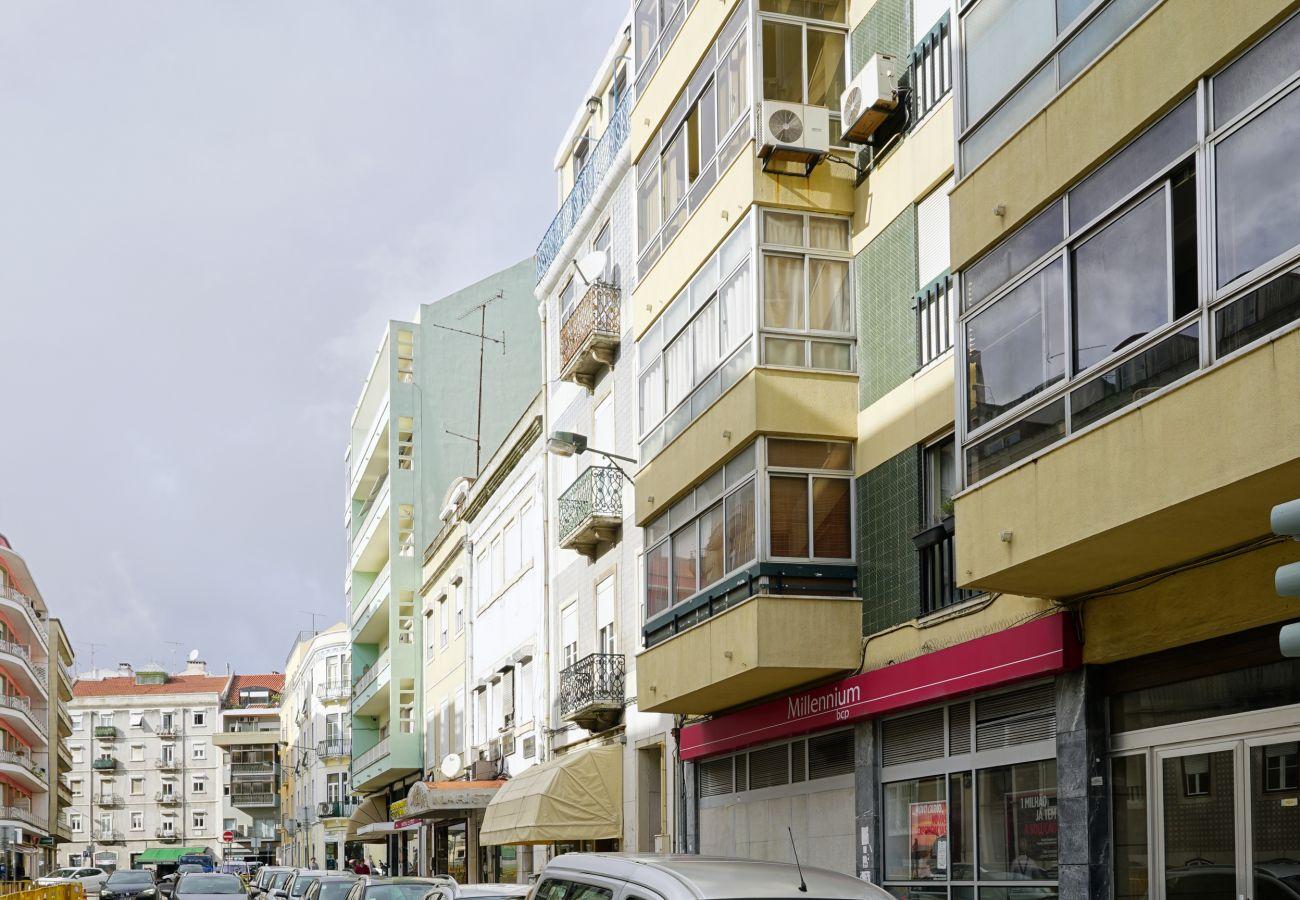 Ferienwohnung in Lissabon - Arroios 3Rooms Apartment by GT House
