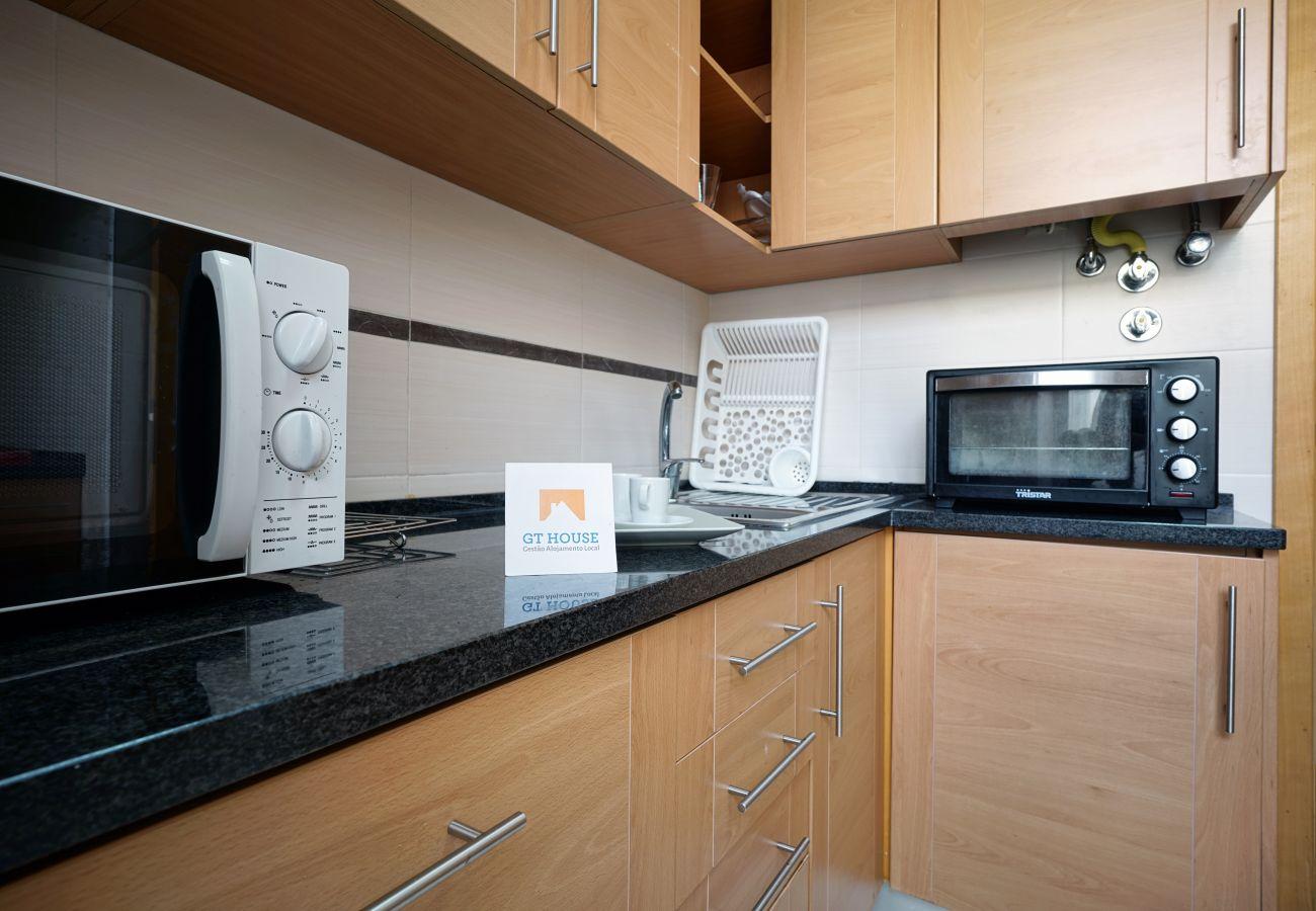 Apartmento con 90 m2 totalmente equipado y recientemente renovado