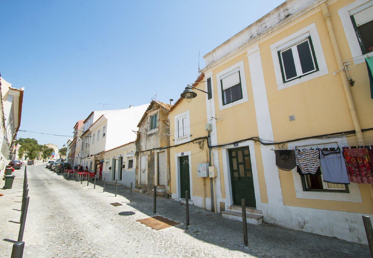 Appartement pour 2 personnes dans un quartier typique du vieux Lisbonne